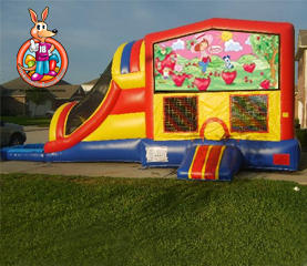 Strawberry Shortcake Module 5 in 1 Waterslide Bouncehouse Combo
